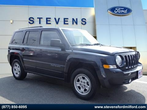 2016 Jeep Patriot for sale in Milford, CT