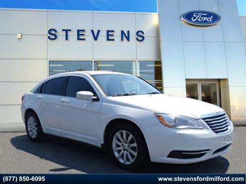 2013 Chrysler 200 for sale in Milford, CT