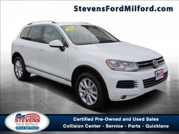 2014 Volkswagen Touareg for sale in Milford, CT