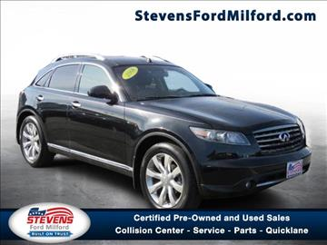 2008 Infiniti FX45 for sale in Milford, CT