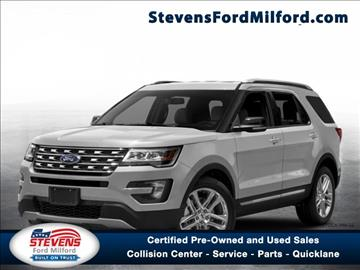 2017 Ford Explorer for sale in Milford, CT
