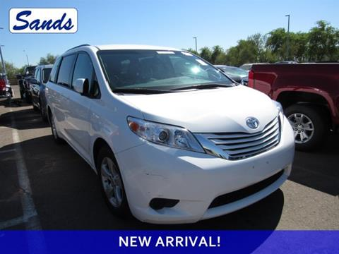 2016 Toyota Sienna for sale in Surprise, AZ
