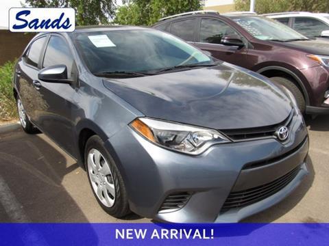 2015 Toyota Corolla for sale in Surprise, AZ