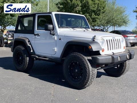 2012 Jeep Wrangler for sale in Surprise, AZ