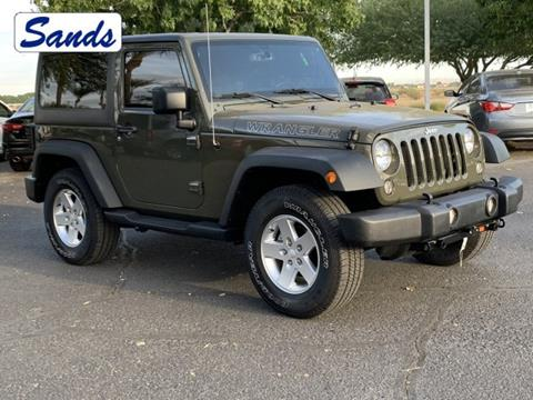 2015 Jeep Wrangler for sale in Surprise, AZ