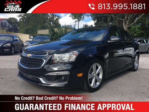2015 Chevrolet Cruze for sale in Riverview, FL