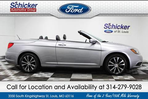 2013 Chrysler 200 Convertible for sale in St. Louis, MO