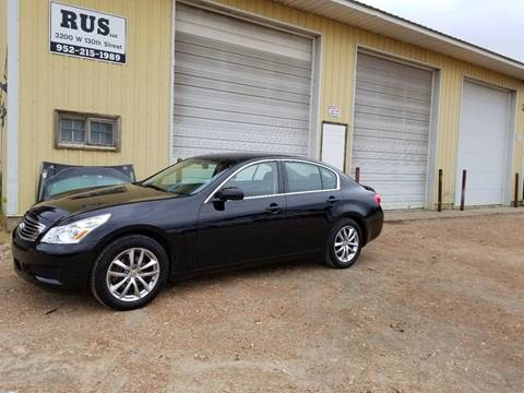 2008 Infiniti G35 for sale at RUS Auto LLC in Shakopee MN