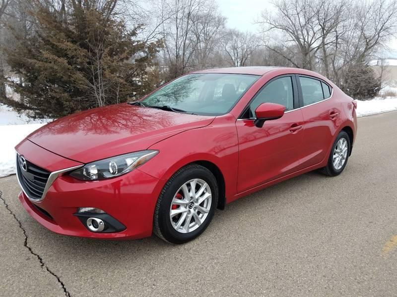 2015 Mazda MAZDA3 for sale at RUS Auto LLC in Shakopee MN