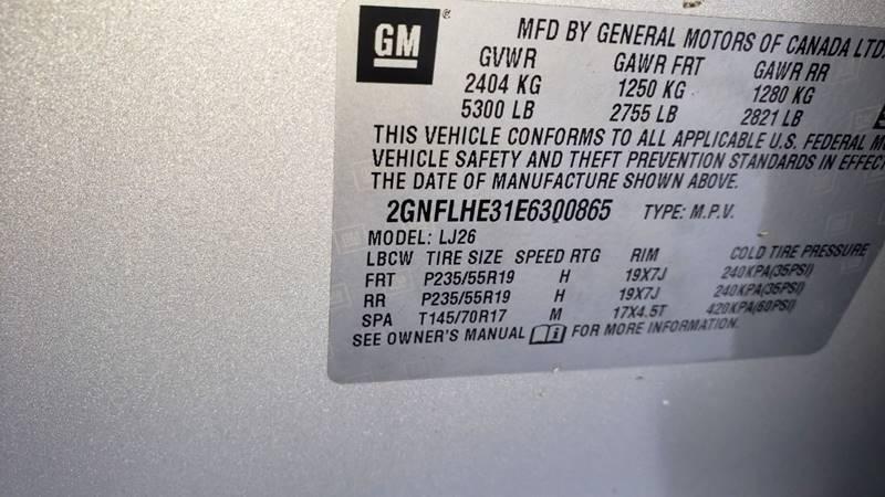 2014 Chevrolet Equinox LTZ (image 23)