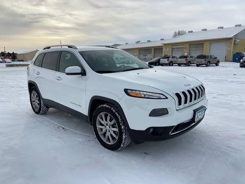 2017 Jeep Cherokee Limited for sale at RUS Auto LLC in Shakopee MN