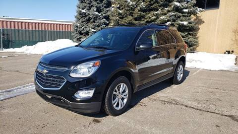 2017 Chevrolet Equinox LT for sale at RUS Auto LLC in Shakopee MN