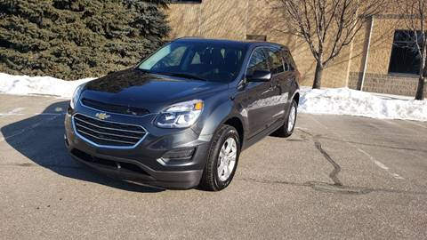 2017 Chevrolet Equinox LS for sale at RUS Auto LLC in Shakopee MN