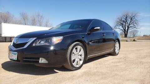 2010 Acura RL SH-AWD w/Tech for sale at RUS Auto LLC in Shakopee MN