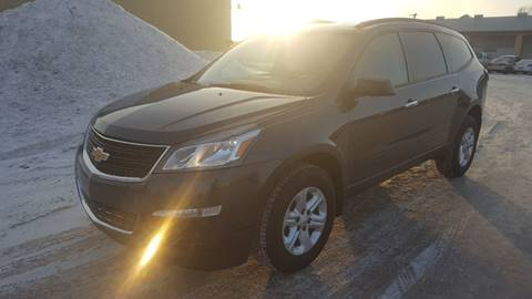 2014 Chevrolet Traverse for sale at RUS Auto LLC in Shakopee MN