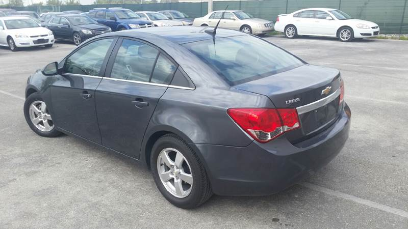 2013 Chevrolet Cruze 1LT Auto 4dr Sedan w/1SD - Lake Worth FL