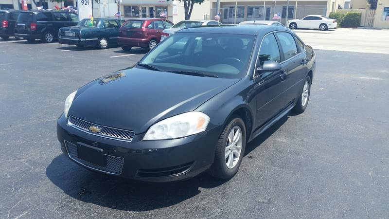 2013 Chevrolet Impala LS Fleet 4dr Sedan - Lake Worth FL