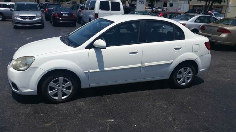 2010 Kia Rio LX 4dr Sedan 4A - Lake Worth FL