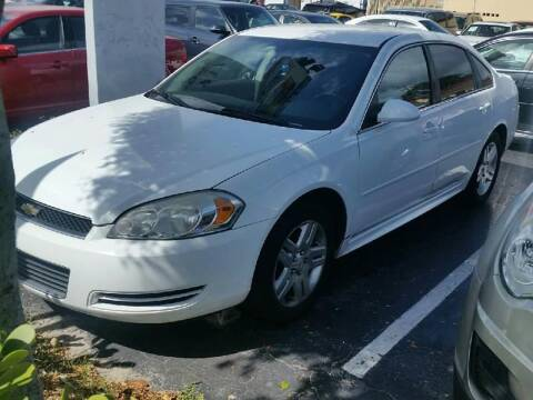 2013 Chevrolet Impala for sale at KK Car Co Inc in Lake Worth FL