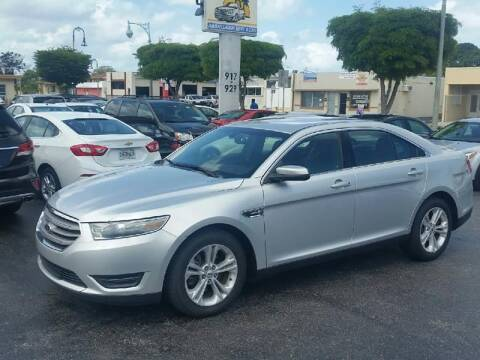2013 Ford Taurus for sale at KK Car Co Inc in Lake Worth FL