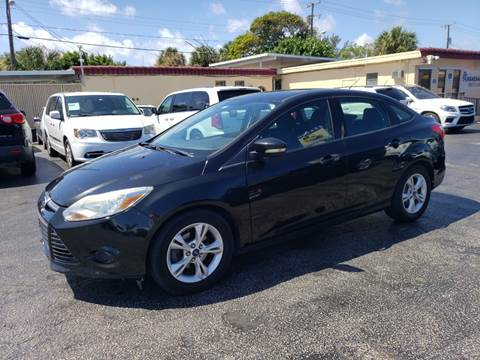 2013 Ford Focus for sale at KK Car Co Inc in Lake Worth FL