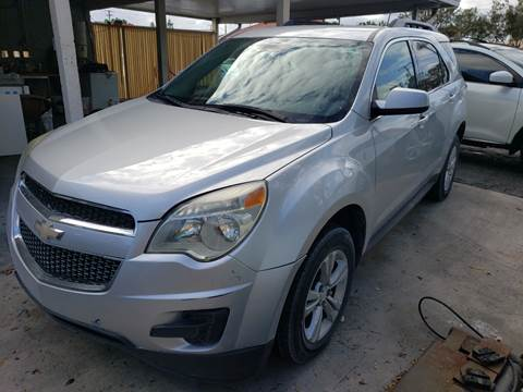 2013 Chevrolet Equinox for sale at KK Car Co Inc in Lake Worth FL