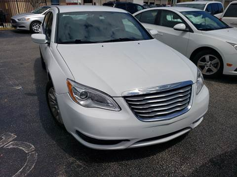 2013 Chrysler 200 for sale at KK Car Co Inc in Lake Worth FL