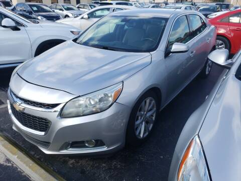 2015 Chevrolet Malibu for sale at KK Car Co Inc in Lake Worth FL