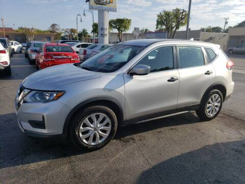 2017 Nissan Rogue for sale at KK Car Co Inc in Lake Worth FL