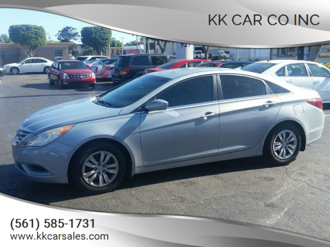 2011 Hyundai Sonata for sale at KK Car Co Inc in Lake Worth FL