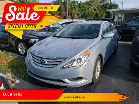 2012 Hyundai Sonata for sale at KK Car Co Inc in Lake Worth FL