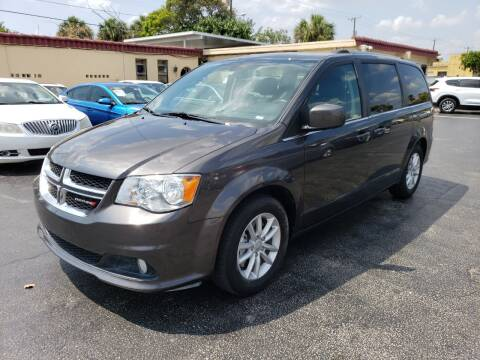 2019 Dodge Grand Caravan for sale at KK Car Co Inc in Lake Worth FL