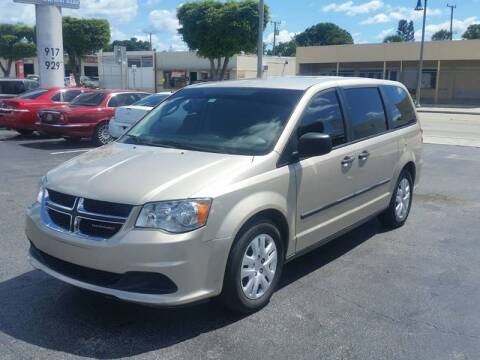 2015 Dodge Grand Caravan for sale at KK Car Co Inc in Lake Worth FL