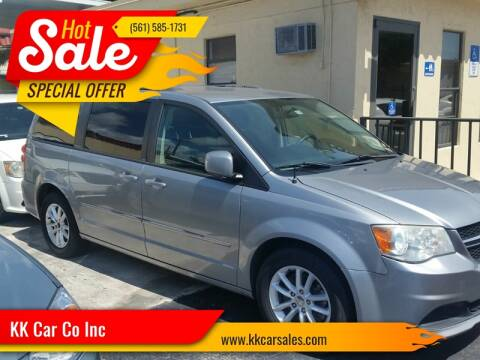 2014 Dodge Grand Caravan for sale at KK Car Co Inc in Lake Worth FL