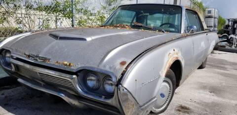 1961 Ford Thunderbird for sale at KK Car Co Inc in Lake Worth FL
