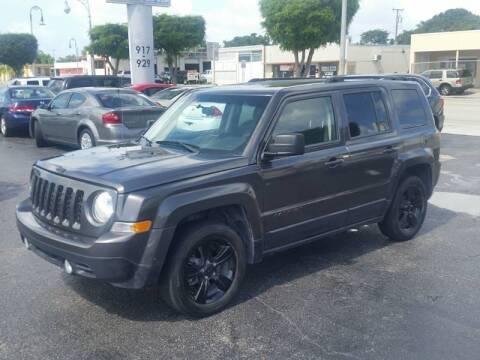 2015 Jeep Patriot for sale at KK Car Co Inc in Lake Worth FL