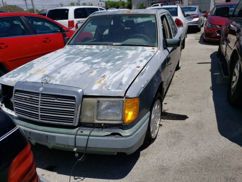 1995 Mercedes-Benz E-Class for sale at KK Car Co Inc in Lake Worth FL