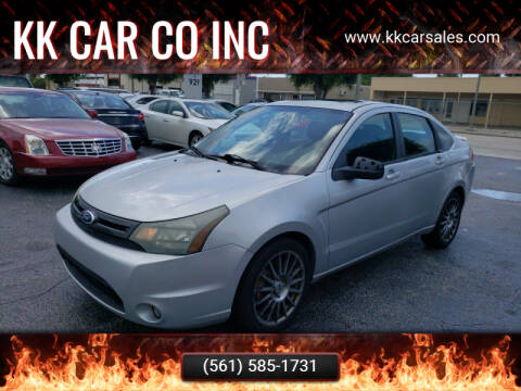 2011 Ford Focus for sale at KK Car Co Inc in Lake Worth FL