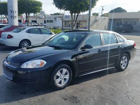 2012 Chevrolet Impala for sale at KK Car Co Inc in Lake Worth FL