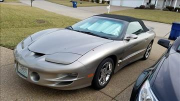 2002 Pontiac Firebird For Sale  Carsforsalecom