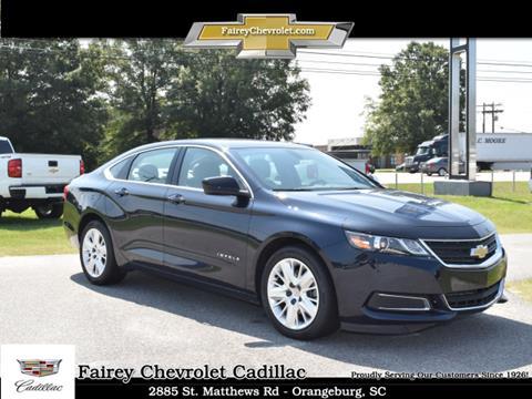 2018 Chevrolet Impala for sale in Orangeburg, SC