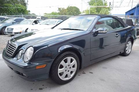 2003 Mercedes-Benz CLK for sale in Tampa, FL