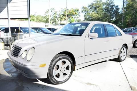 2002 Mercedes-Benz E-Class for sale in Tampa, FL
