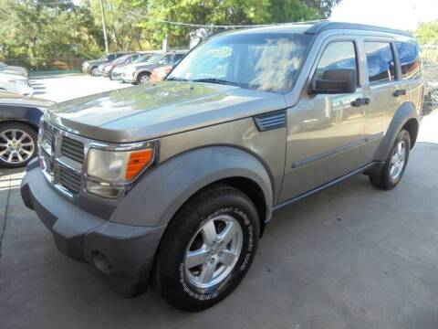 2007 Dodge Nitro for sale at Automax Wholesale Group LLC in Tampa FL