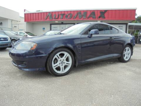 2006 Hyundai Tiburon for sale at Automax Wholesale Group LLC in Tampa FL