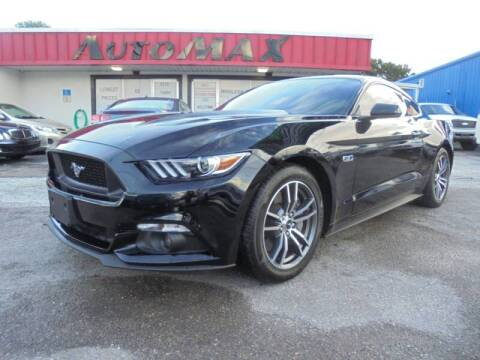 2017 Ford Mustang for sale at Automax Wholesale Group LLC in Tampa FL