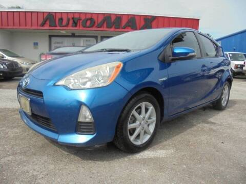 2013 Toyota Prius c for sale at Automax Wholesale Group LLC in Tampa FL