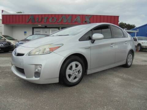2010 Toyota Prius for sale at Automax Wholesale Group LLC in Tampa FL