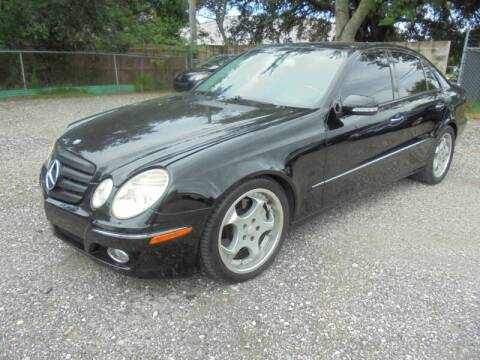 2007 Mercedes-Benz E-Class for sale at Automax Wholesale Group LLC in Tampa FL