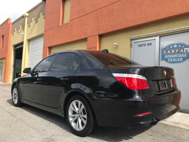 2010 BMW 5 Series for sale at Semper Fi  Motors in Miami FL